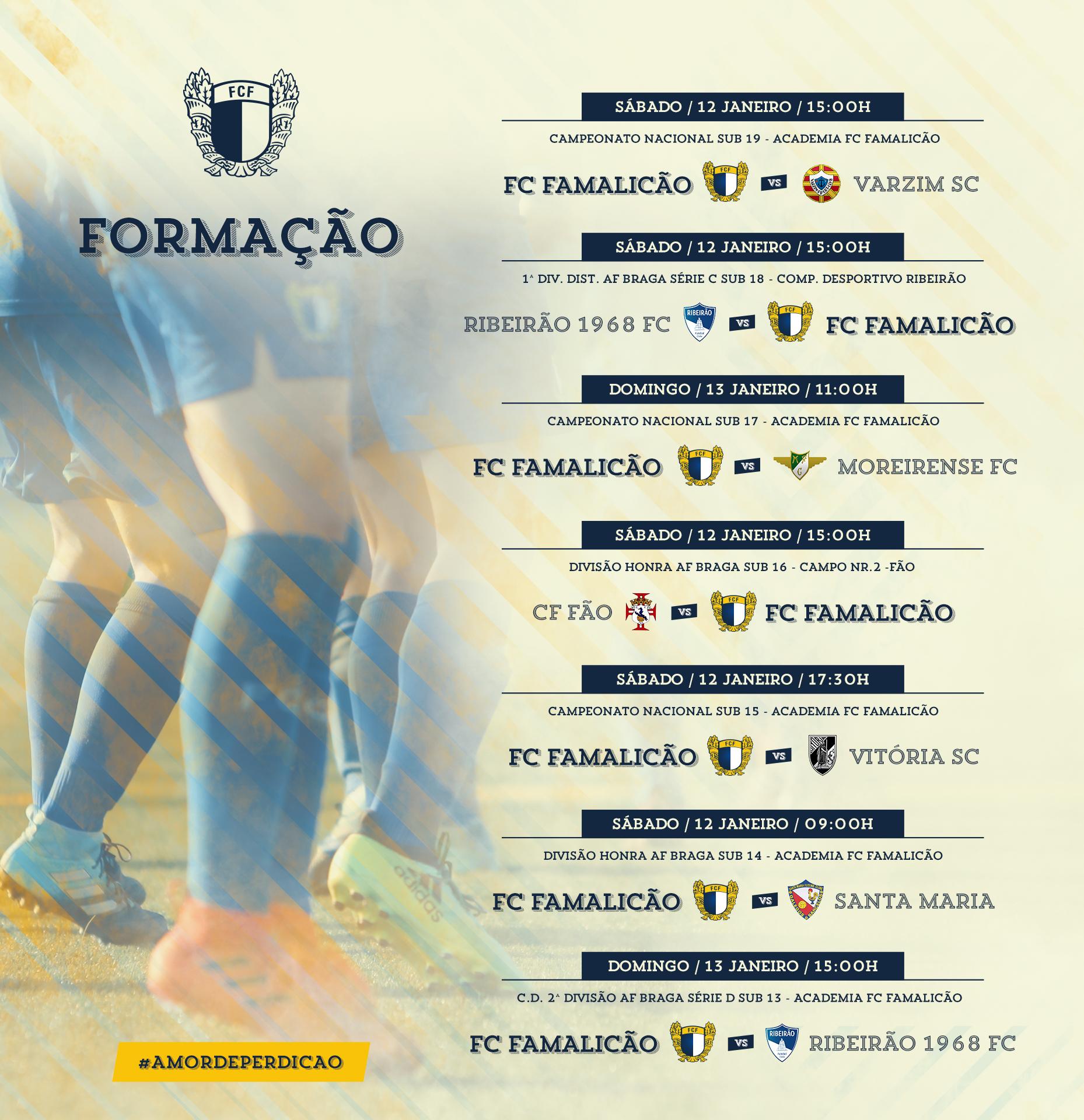 CALENDÁRIO DA FORMAÇÃO – 12 E 13 DE JANEIRO – FC Famalicão 0b3b1119a6b7a